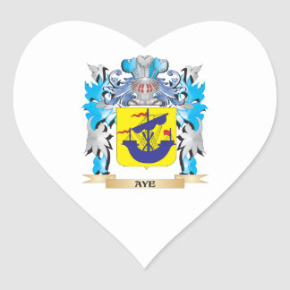 Aye Coat Of Arms Stickers