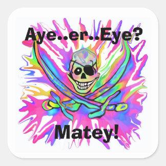 Aye or Eye? Matey Stickers