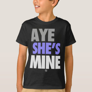 Aye Shes Mine (Blue).png T-Shirt
