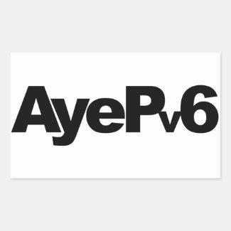AyePv6 Sticker