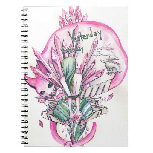 Ayer cuaderno