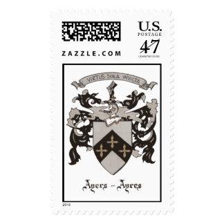 Ayers-Ayres Postage Stamp