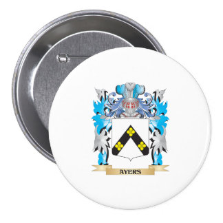 Ayers Coat Of Arms Buttons