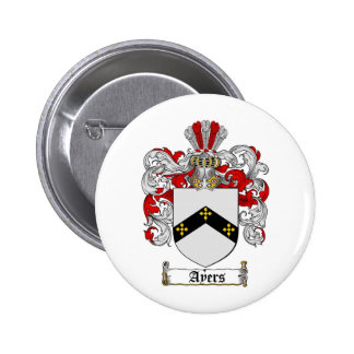 AYERS FAMILY CREST -  AYERS COAT OF ARMS BUTTONS