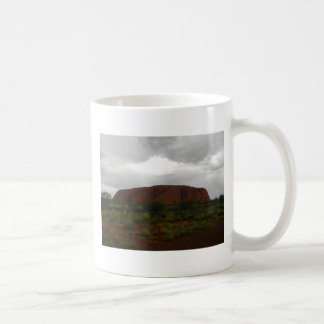 Ayers Rock Classic White Coffee Mug