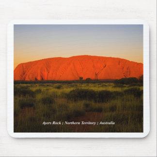 Ayers Rock, Uluru, Australia Mouse pad