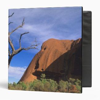 Ayers Rock Uluru in the Outback Australia 3 Ring Binders
