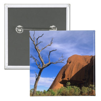 Ayers Rock Uluru in the Outback Australia Pin