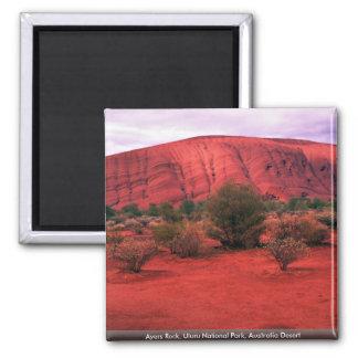 Ayers Rock, Uluru National Park, Australia Desert Magnet