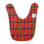 Ayers Scottish Family Tartan Baby Bib