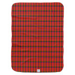 Ayers Scottish Family Tartan Receiving Blanket
