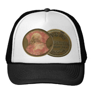 Ayers Three-Cent Enclosed Postage Trucker Hat