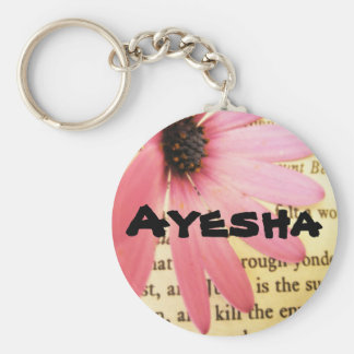 Ayesha Llavero Redondo Tipo Pin