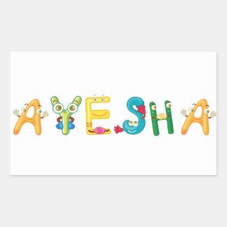 Ayesha Sticker