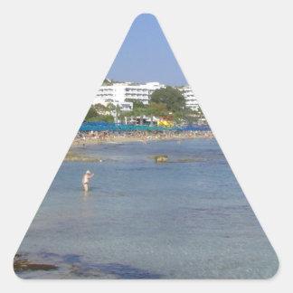 Ayia Napa Beach Triangle Sticker
