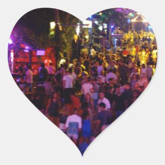 Ayia Napa Heart Sticker