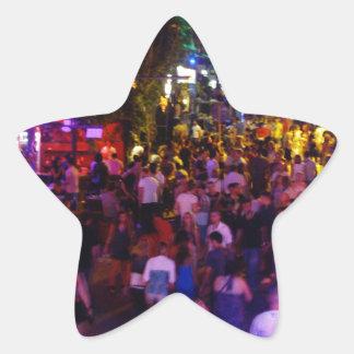Ayia Napa Star Sticker