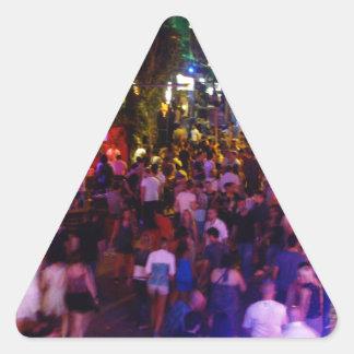 Ayia Napa Triangle Sticker