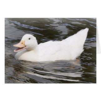 Aylesbury Duckling Card
