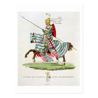 ¿Aylmer de Valence, conde del Pembroke (1265? - 13 Postal