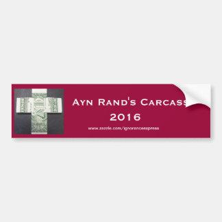 Ayn Rand 2016 Car Bumper Sticker