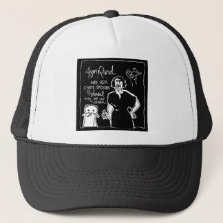 Ayn Rand and Her Chain Smokin' Weasel Trucker Hat