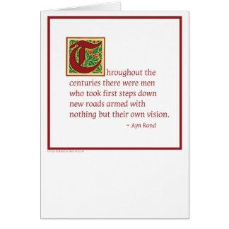 Ayn Rand Card