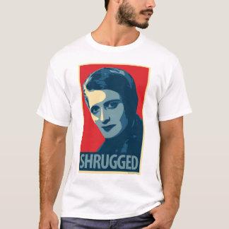 Ayn Rand: Encogido (camiseta de la parodia del Playera