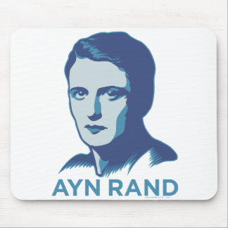 Ayn Rand Mouse Pad