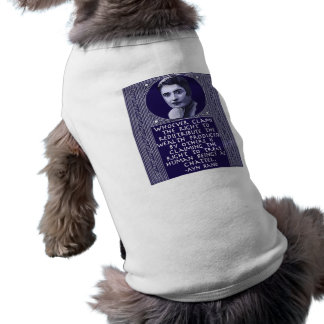Ayn Rand on Redistribution of Wealth Doggie T Shirt
