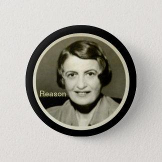 Ayn Rand Pinback Button