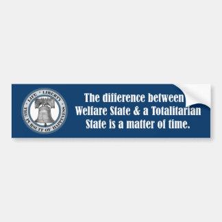 Ayn Rand Quote Bumper Car Bumper Sticker