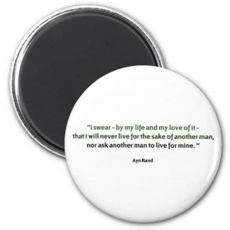 Ayn Rand Quote Magnet