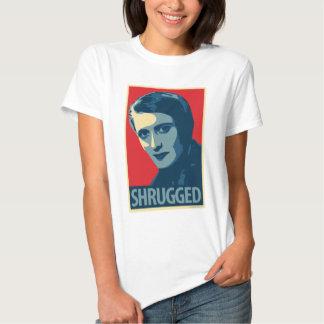 Ayn Rand - Shrugged: OHP Ladies Top T Shirts