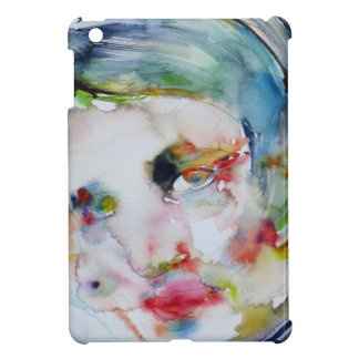 ayn rand - watercolor portrait cover for the iPad mini