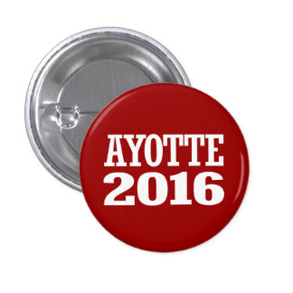 Ayotte - Kelly Ayotte 2016 Button
