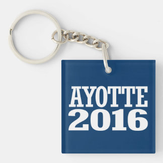 Ayotte - Kelly Ayotte 2016 Double-Sided Square Acrylic Keychain