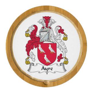 Ayre Family Crest Cheese Platter