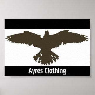 Ayres Clothing - Falcon Design Poster