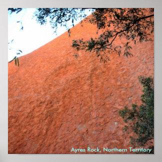 Ayres rock 2, Northern Territory Poster