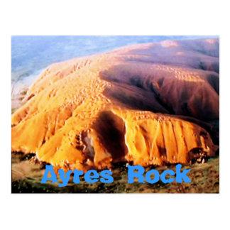 Ayres Rock Uluru Australia postcard