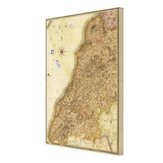 Ayrshire del sur impresión de lienzo