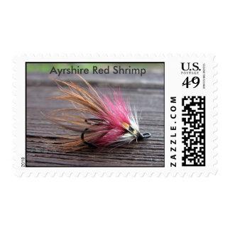 Ayrshire Red Shrimp Stamp