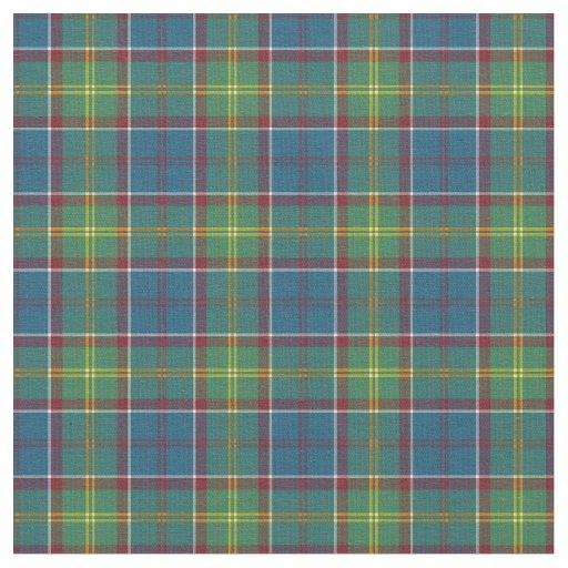 Ayrshire Scotland District Tartan Fabric