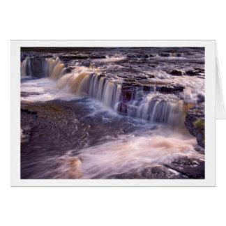 Aysgarth Falls, The Yorkshire Dales Greeting Card