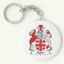 Ayton Family Crest Keychain
