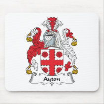 Ayton Family Crest Mousepad