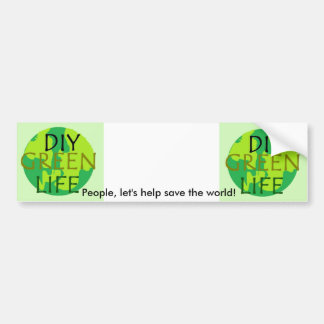 Ayuda ahorrar a la pegatina para el parachoques de pegatina de parachoque