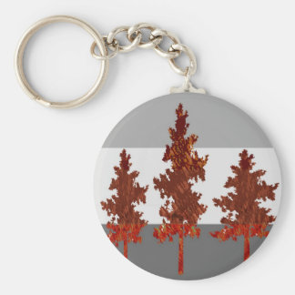 Ayuda ahorrar los árboles - ambiente sano llaveros personalizados