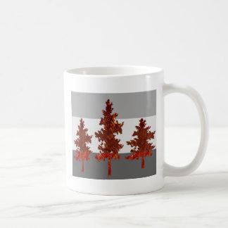 Ayuda ahorrar los árboles - ambiente sano taza